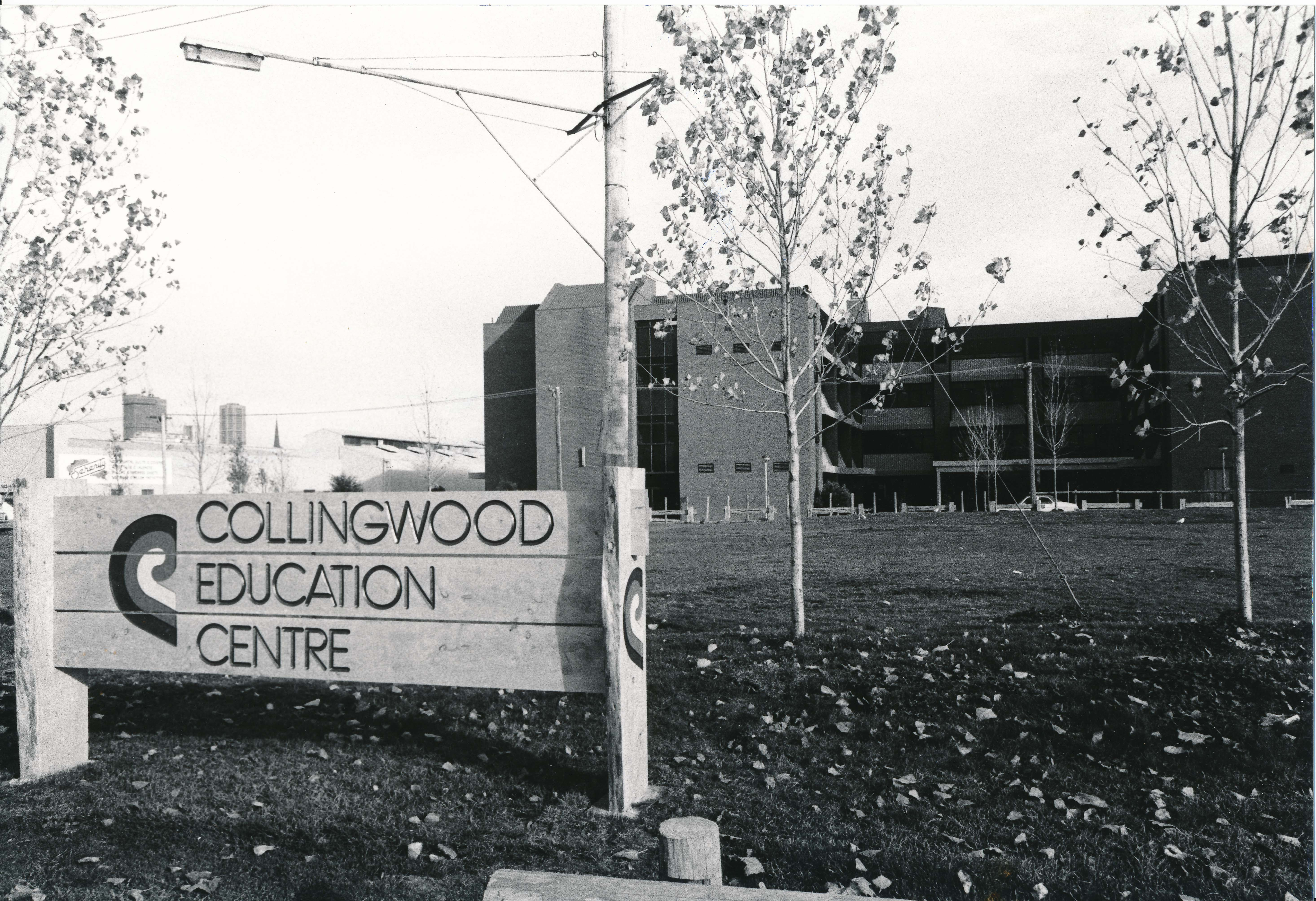 Collingwood Education Centre, 1981. Photographer unknown. Yarra Libraries, CL PIC 333.